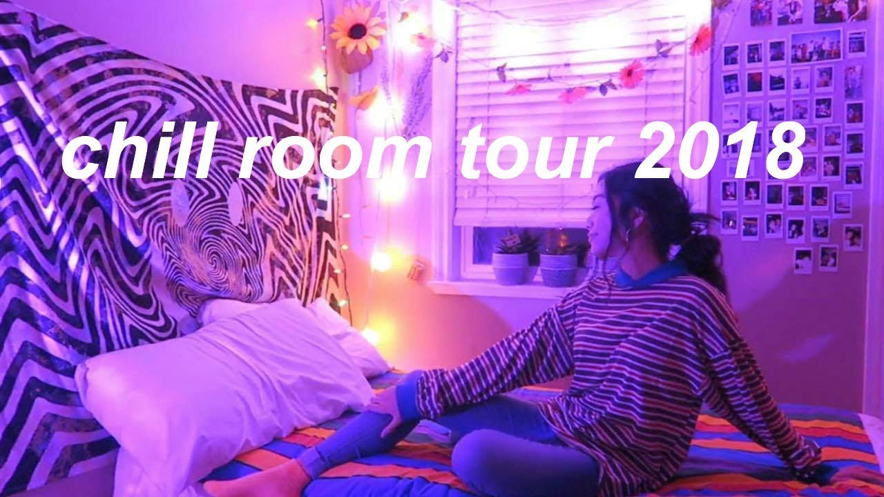 CHILL ROOM TOUR 2018  YouTube