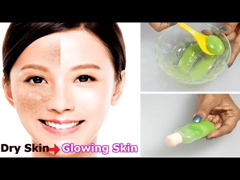 DIY MOISTURISER FOR DRY FLAKY SKIN - HOW TO GET GLOWING SKIN (WINTER SKIN CARE SPECIAL)