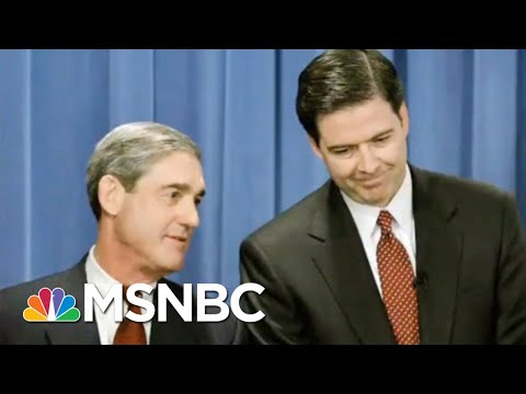 100 Photos Of James Comey And Robert Mueller 'Hugging And Kissing'? | All In | MSNBC