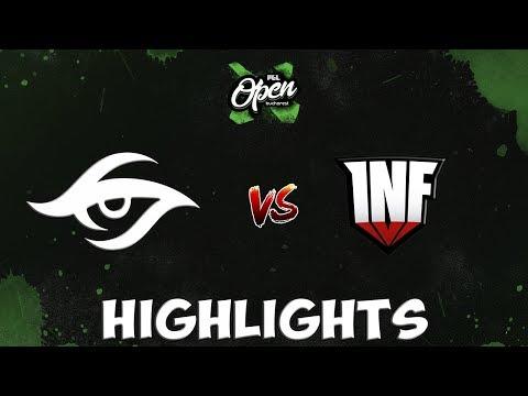 Highlights Team Secret vs Infamous game 1-2 PGL Open Bucharest