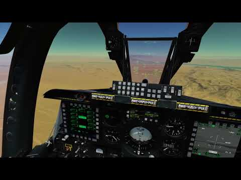 DCS A-10C CBU-97 Carpet Bombing Demo
