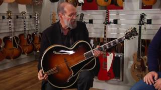 Eric Clapton Collection at Gruhn Guitars: 1937 D'Angelico Excel