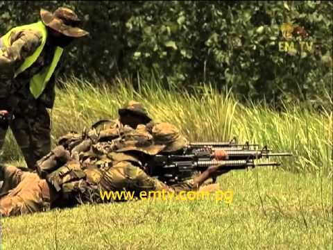 PNG Defence Force Shooting Competition