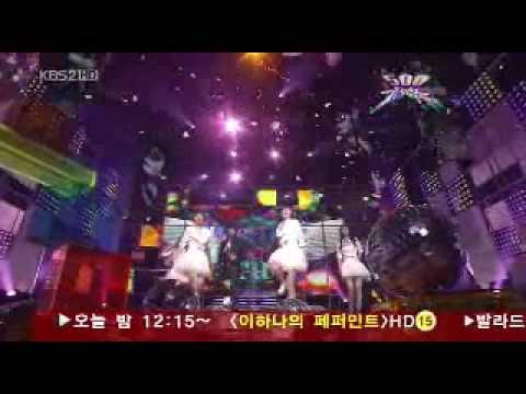 So Nyeo Shi Dae ( SNSD ) - Dreams come true (Music Bank)