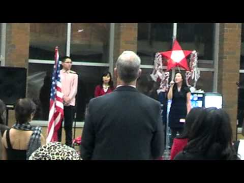 Star Spangled Banner - FAAIE 2013 Christmas Party