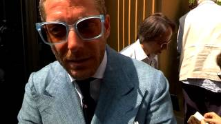 Italia independent group chairman and fiat chrysler heir lapo elkann speaks with capitol intelligence about google awarding glass contract to listed c...