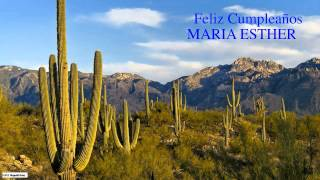 MariaEsther   Nature & Naturaleza - Happy Birthday