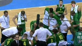 Eurobasket 2011 / Macedonia vs Lithuania / Last minute / TV3