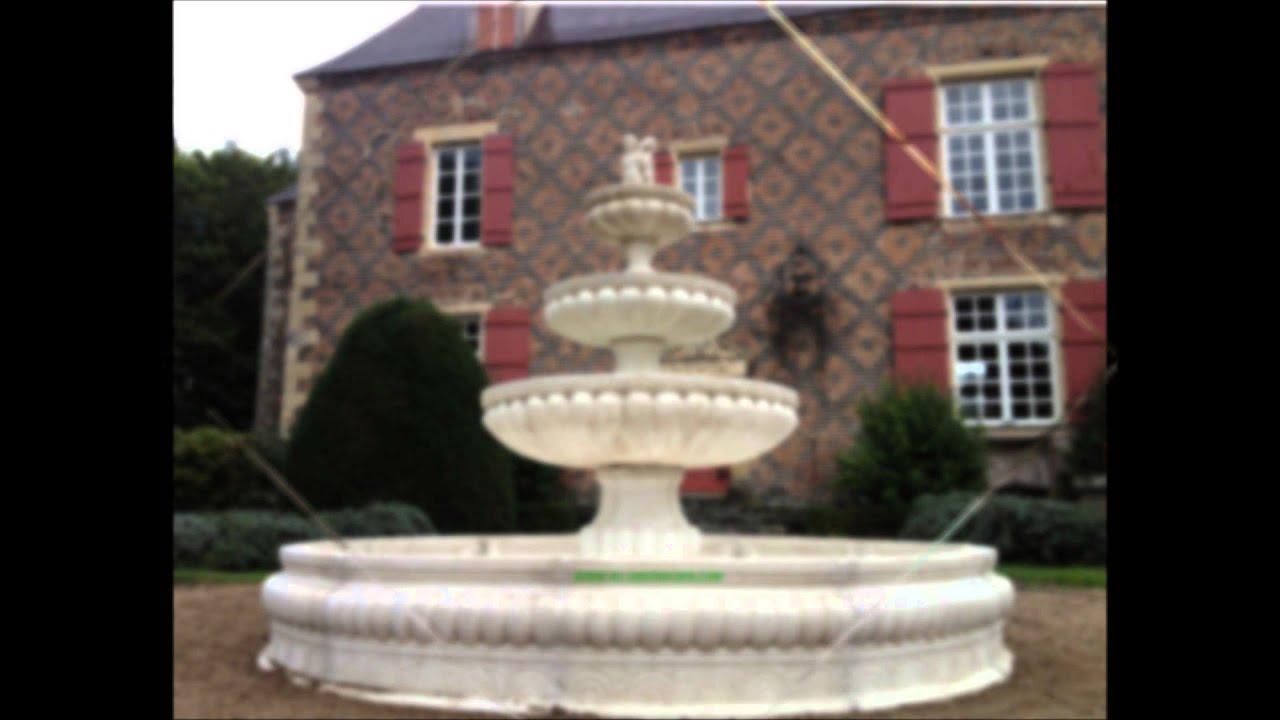 Fontaine De Jardin Pierre Naturelle | Fontaines Et Bassins