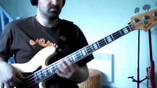 James Brown - Licking stick (bass cover)