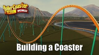 Rollercoaster Tycoon World - Building a Hypercoaster (Pantherophis)