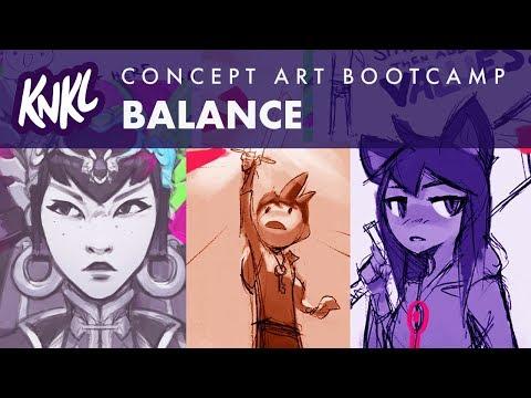 Concept Art Boot Camp 03! (2 golden rules!!) KNKL346