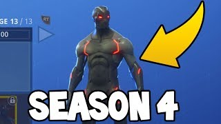 NEW Fortnite Season 4 Battle Pass! (All Items, Skins, Emotes)