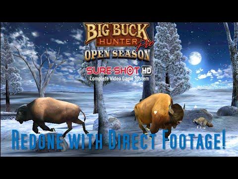 Big Buck Hunter Pro Open Season: Bison Adventure REDONE! |