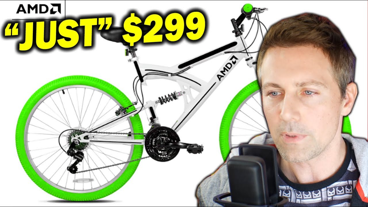 Amd S 299 Bicycle And An Announcement Of An Announcement For Rdna 2 Youtube