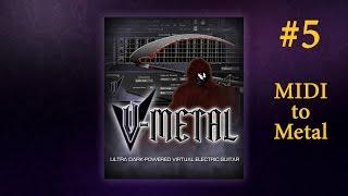Prominy V-Metal - обзор #5. Пример использования в проекте. Ритм-гитара