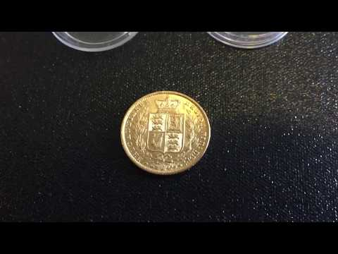 1861 Full Gold Sovereign Shield AU?!