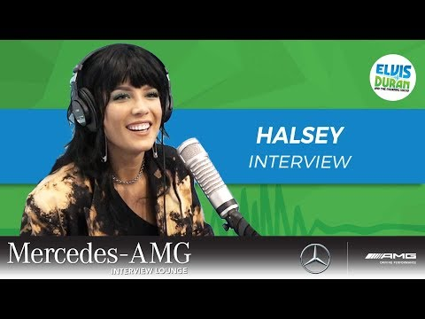 Halsey Surprising BTS Made Her Feel Awesome | Elvis Duran Show