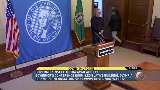 WATCH: Update on State Response to COVID-19