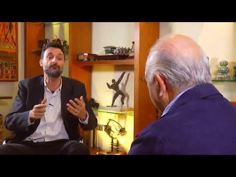 Cristián Warnken conversa con Ricardo Lagos