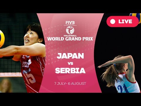Japan v Serbia  - Group 1: 2017 FIVB Volleyball World Grand Prix