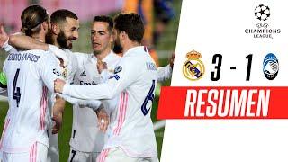 ¡EL MERENGUE A CUARTOS! | Real Madrid 3-1 Atalanta | RESUMEN