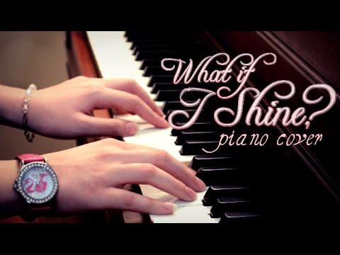 What if I Shine Piano Cover (+Lyrics and Sheet Music) | Barbie Rock 'n Royals Instrumental/Karaoke