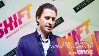 SHIFT Business Festival - Christoph Auer-Welsbach