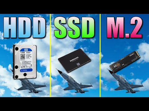 M.2 (NVME) SSD vs. SATA SSD: What is more for gaming?