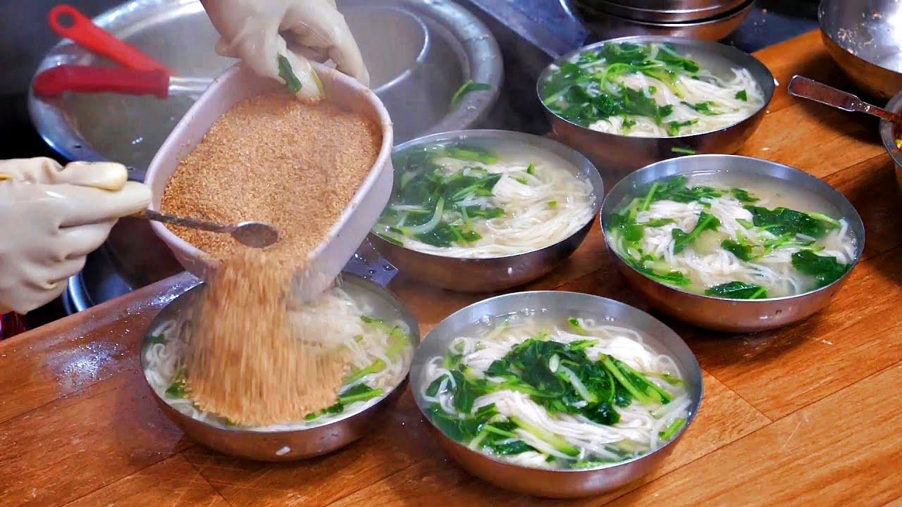 양에 놀라고! 맛에 놀라는! 역대급 시장 국수집 몰아보기 TOP 6, 잔치국수, 칼국수, 비빔국수, 수제비 / Korean Noodles / korean street food