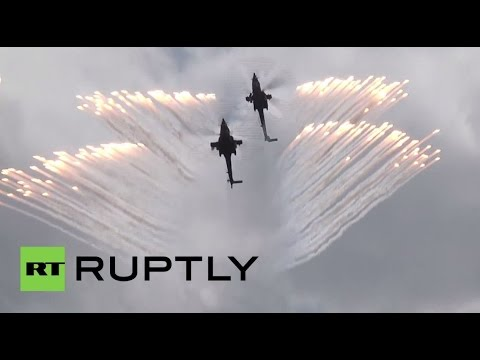 Russia: Watch the Russian Air Force perform at