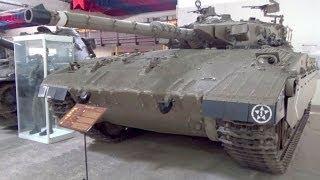 Merkava Mk. I, The Tank Museum, Saumur, Maine-et-Loire, France, Europe