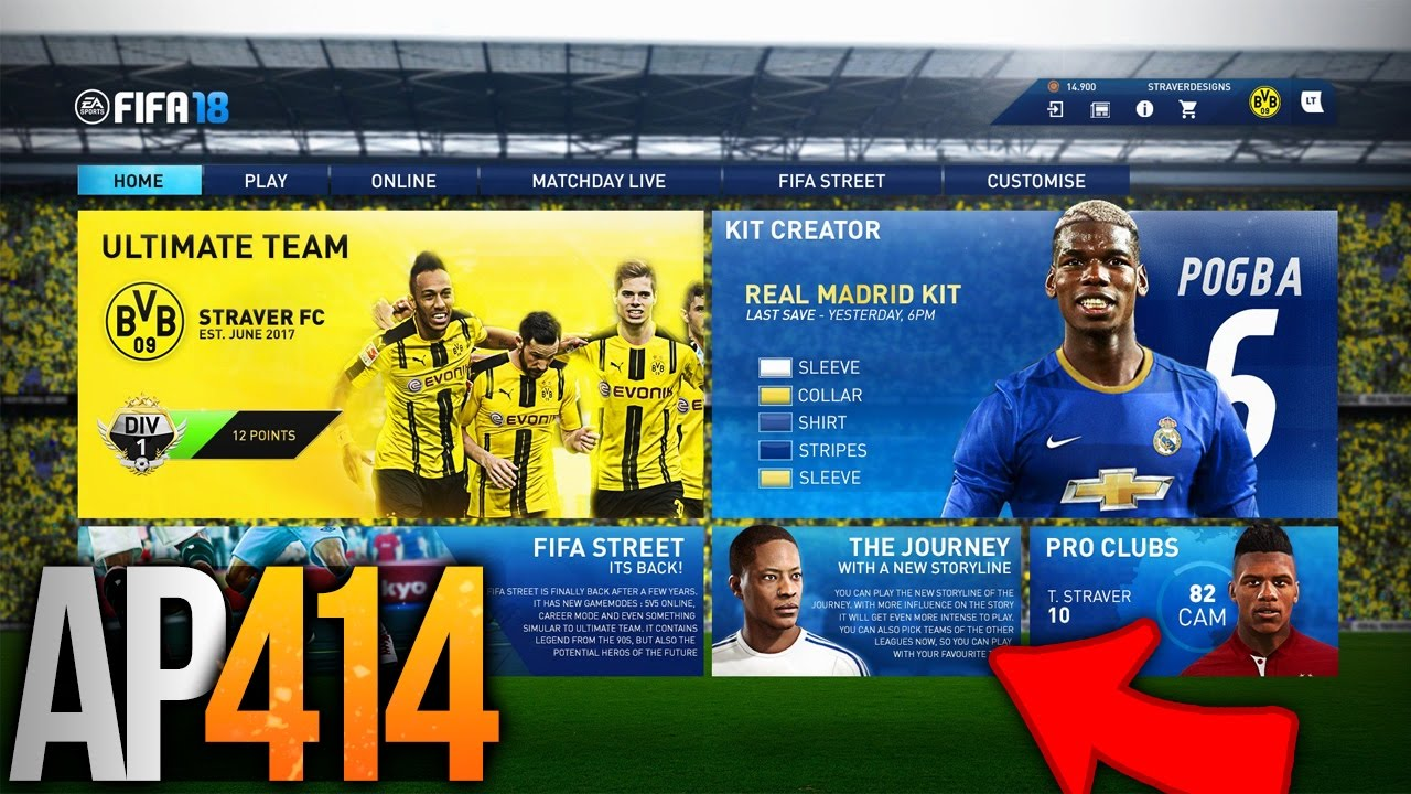 Fifa 18 The Journey 2