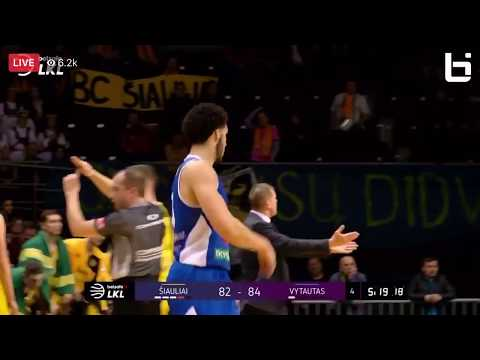 LiAngelo Ball Hits A Three To Give Vytautas The Lead Vs Siauliai