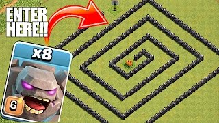 Video YOU WONT BELIEVE THIS🔸GOLEM MAZE WITHOUT LOOKING🔸Clash of clans troll raids download MP3, 3GP, MP4, WEBM, AVI, FLV Agustus 2017