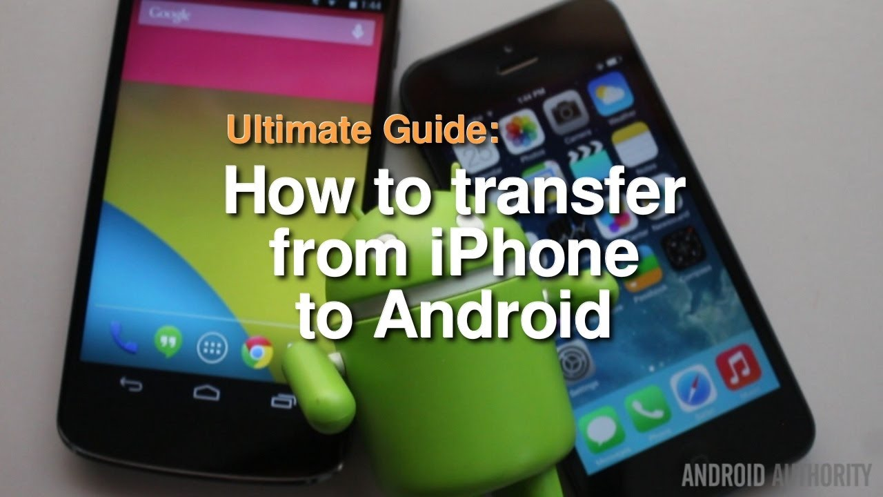 How to transfer photos from old samsung phone to new iphone