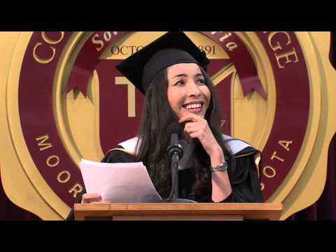 Concordia College: Roxana Saberi Commencement Address 2013
