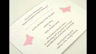 Amore Invitations - Handmade Wedding Invitations