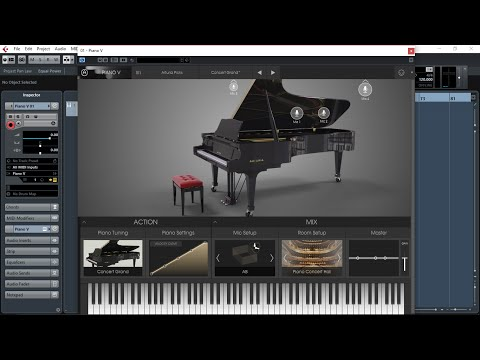 Arturia Piano V, The BIG Soundtest and Demo