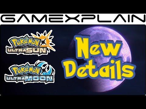 Pokémon Ultra Sun & Ultra Moon - NEW Details! (Legendaries & Mewtwo; Double the Script!)