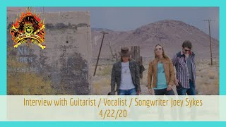 CMStv for FREE – Interview with The Babys/Honey River Guitarist Joey Sykes – 4/22/20