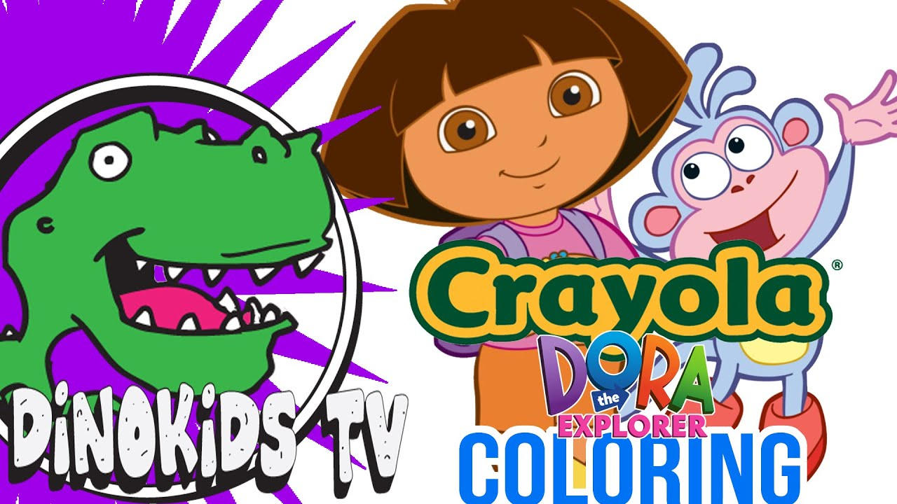 Crayola Giant Coloring Pages Dora The Explorer