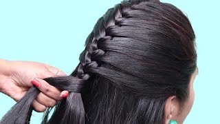 Easy Wedding/Party Hairstyles || hair style girl || hairstyles for girls || hairstyle for short hair