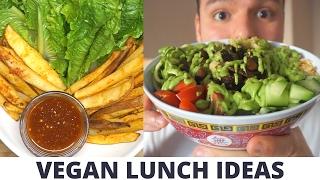 3 VEGAN LUNCH IDEAS | Raw/Vegan food