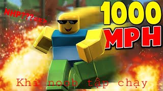 Roblox | When noob the episode runs faster than the Scriptures | Speed Simulator