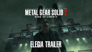 "Metal Gear Solid 2: Sons of Liberty - ""Elegia"" Trailer & Side by Side with 2015 E3 MGSV Trailer"