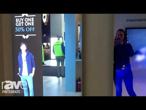 Integrate 2016: Samsung Features Its Mirror Display Line-Up with Reflection Technology for Retail