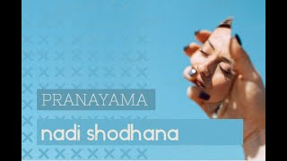 Ejercicio de Yoga respiración Nadi Sodhana Pranayama- Respiración Alterna