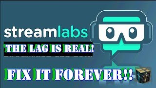 HOW to Stop Lagging on LIVE Streams and recordings with SLOBS StreamLabs Best settings for Streaming Video