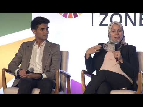 SDG Advocates in conversation with young climate activists